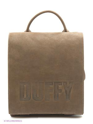Сумка Duffy. Цвет: темно-коричневый