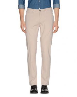 Повседневные брюки BRIGLIA 1949. Цвет: голубиный серый