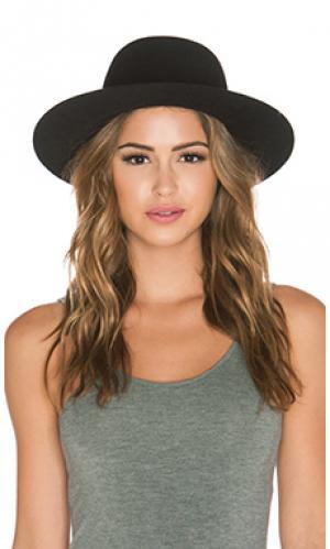 Шляпа sesam Etudes. Цвет: черный