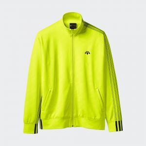 Олимпийка  Originals by AW Jacquard adidas. Цвет: желтый