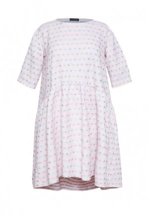 Платье Lucky Move. Цвет: розовый