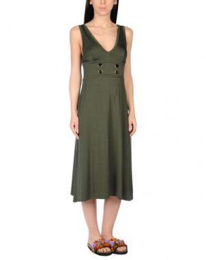 Пляжное платье CHRISTIES. Цвет: зеленый-милитари