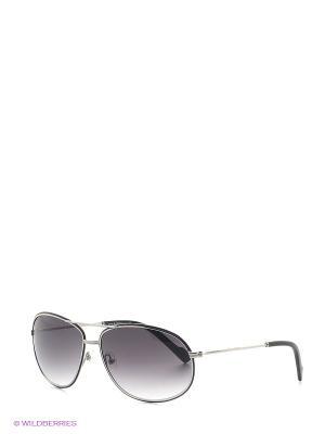 Солнцезащитные очки IS 11-202 03 Enni Marco. Цвет: антрацитовый, серебристый