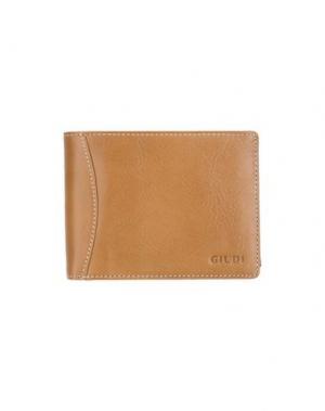 Бумажник GIUDI. Цвет: верблюжий