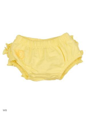 Трусики-блумеры с рюшами на памперс Маленькое солнышко Alaskan Fashion. Цвет: желтый