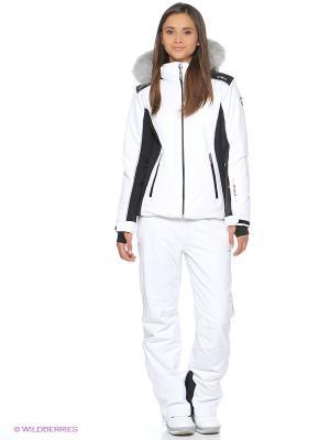 Куртка CMP. Цвет: белый