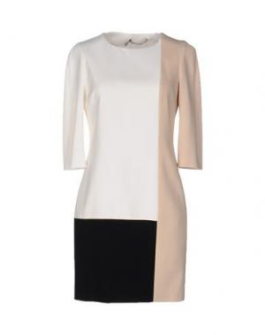 Короткое платье AQUILANO-RIMONDI. Цвет: белый