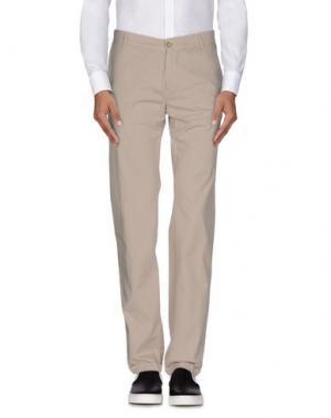 Повседневные брюки DANIELE ALESSANDRINI. Цвет: светло-серый
