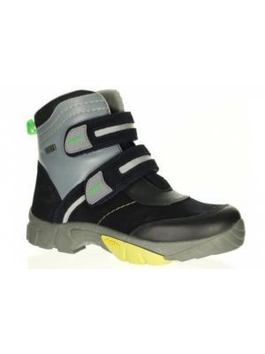 Ботинки Bartek. Цвет: синий,зеленый,серый