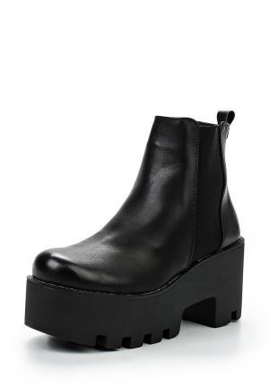 Ботинки Fashion Women. Цвет: черный