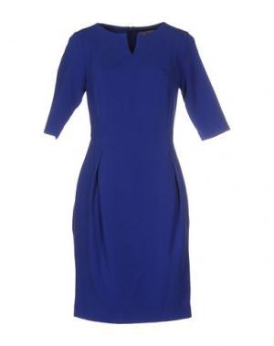 Короткое платье BOURNE. Цвет: синий