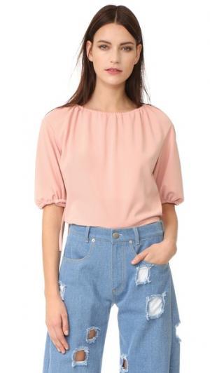 Блуза с Sofie Rejina Pyo. Цвет: розовый