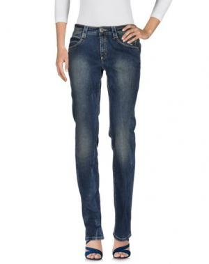 Джинсовые брюки CARLO CHIONNA. Цвет: синий