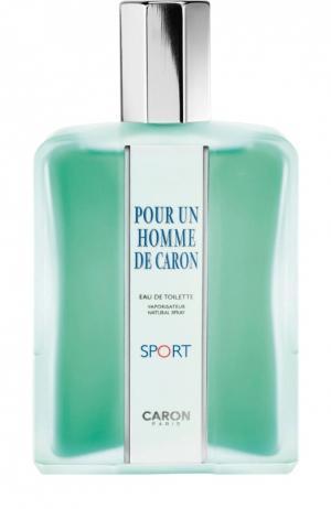Туалетная вода Pour Un Homme Sport Caron. Цвет: бесцветный