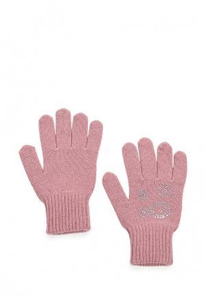 Перчатки Finn Flare. Цвет: розовый