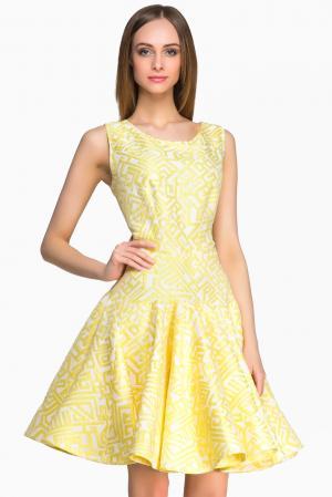 Платье 146988 Lolita Shonidi. Цвет: желтый