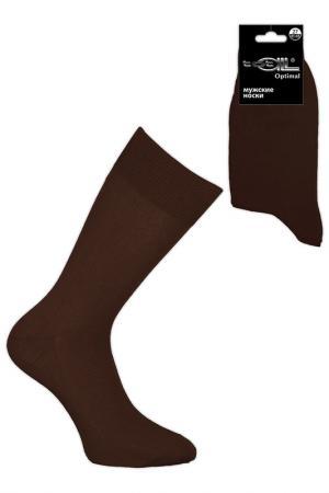 Носки мужские Totall. Цвет: коричневый