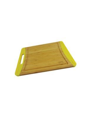 Доска разделочная BAMBOO 35х25х2,1 см GIPFEL. Цвет: коричневый
