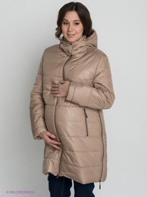 Куртка Gemko. Цвет: бежевый