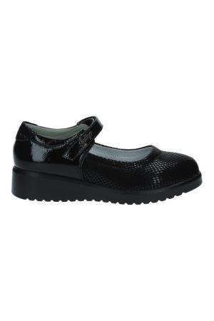 Туфли INDIGO KIDS. Цвет: черный