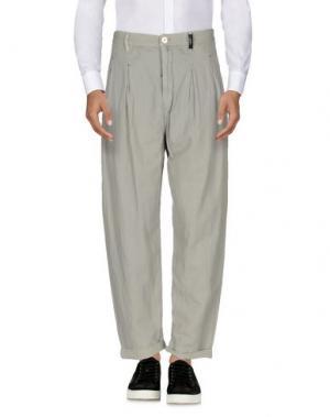 Повседневные брюки HIGH. Цвет: серый