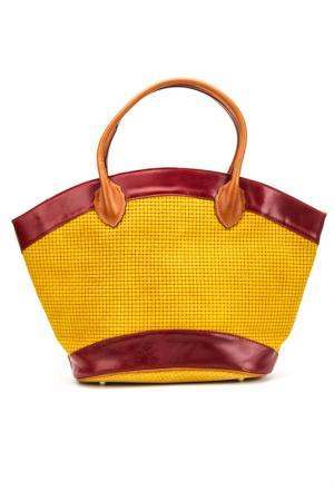 Сумка Emilio masi. Цвет: yellow and red