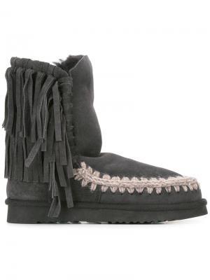Ботинки Eskimo 24 Mou. Цвет: серый