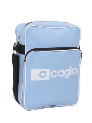 Сумка для учащихся 325714 CAGIA. Цвет: голубой