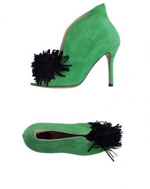 Туфли LISA C BIJOUX. Цвет: зеленый
