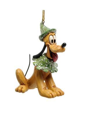 Фигурка Плуто Disney Traditions. Цвет: красный, зеленый, синий