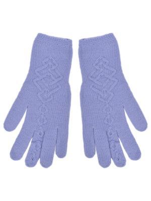 Перчатки R&I. Цвет: серо-голубой