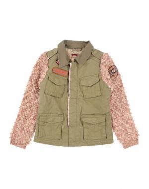 Куртка SCOTCH R'BELLE. Цвет: зеленый-милитари
