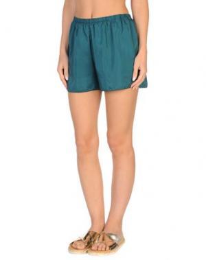 Пляжные брюки и шорты GRAZIA'LLIANI SOON. Цвет: темно-зеленый