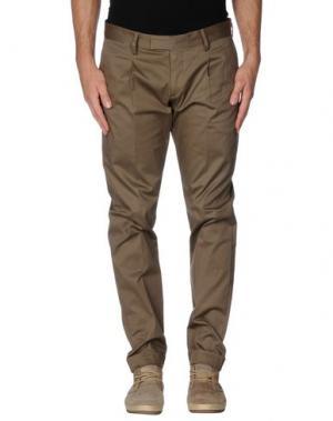 Повседневные брюки GABARDINE. Цвет: хаки