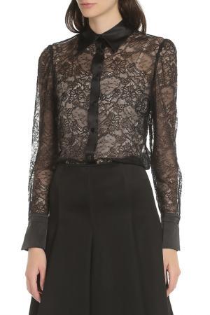 Рубашка Elisa Fanti. Цвет: черный