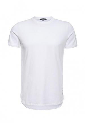 Футболка Sisley. Цвет: белый
