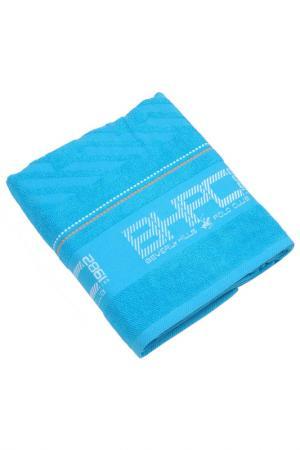 Банное полотенце, 80х150 Beverly Hills Polo Club. Цвет: синий