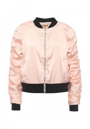 Куртка By Swan. Цвет: розовый