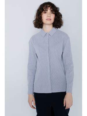 Рубашка PEPEN. Цвет: серый