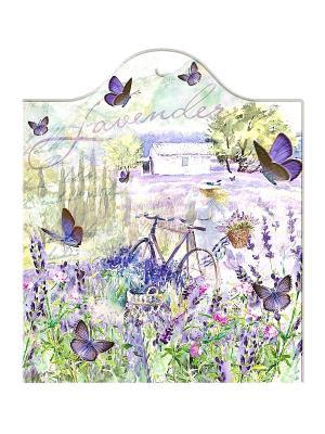 Керамическая подставка Gift'n'Home. Цвет: салатовый, сиреневый, фиолетовый, белый