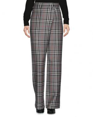 Повседневные брюки LAVINIATURRA. Цвет: серый