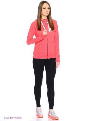 Толстовка W NSW GYM VNTG HOODIE FZ Nike. Цвет: оранжевый