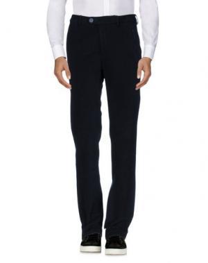 Повседневные брюки MANUEL RITZ WHITE. Цвет: темно-синий