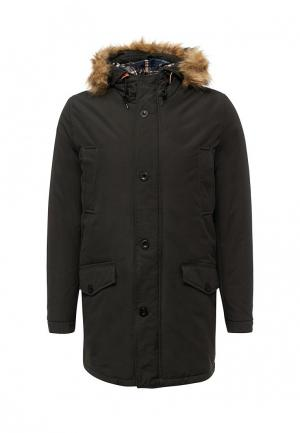 Куртка утепленная E-Bound. Цвет: черный