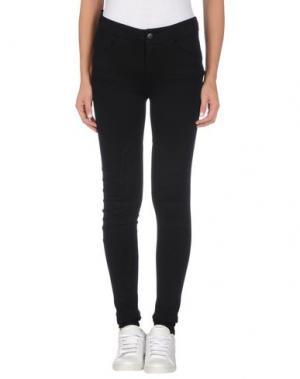 Повседневные брюки GESTUZ. Цвет: черный