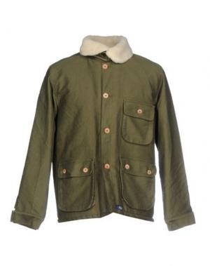 Куртка BLEU DE PANAME. Цвет: зеленый-милитари