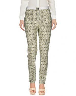 Повседневные брюки METRADAMO. Цвет: зеленый