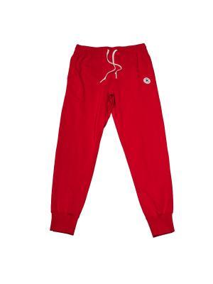 Брюки Knitted Mens pant Converse. Цвет: красный