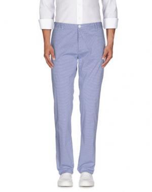 Повседневные брюки OFFICINA 36. Цвет: синий