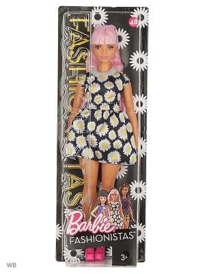 Куклы из серии Игра с модой в ассортименте Barbie. Цвет: черный, белый, розовый